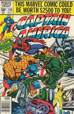 Captain America # 249 Issues V1 (1968 - 1996)