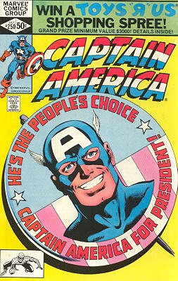 Captain America # 250 Issues V1 (1968 - 1996)