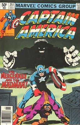 Captain America # 251 Issues V1 (1968 - 1996)