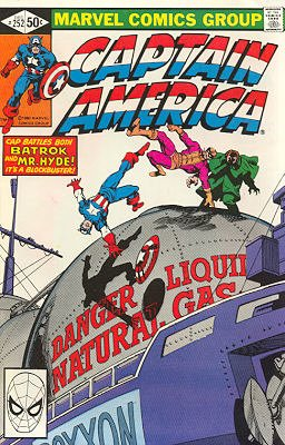 Captain America # 252 Issues V1 (1968 - 1996)