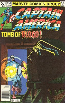 Captain America # 253 Issues V1 (1968 - 1996)