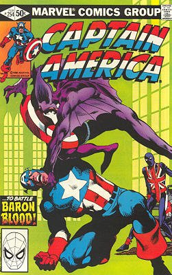 Captain America # 254 Issues V1 (1968 - 1996)
