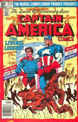 Captain America # 255 Issues V1 (1968 - 1996)