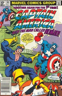Captain America # 261 Issues V1 (1968 - 1996)