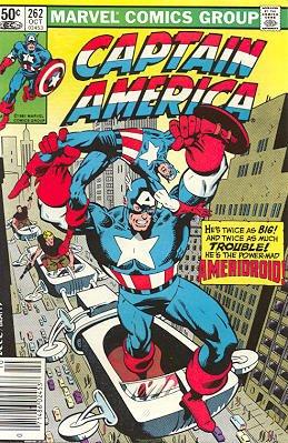 Captain America # 262 Issues V1 (1968 - 1996)