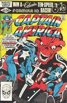 Captain America # 263 Issues V1 (1968 - 1996)