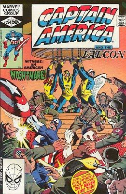 Captain America # 264 Issues V1 (1968 - 1996)