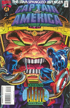 Captain America 441 - Through the Perilous Fight