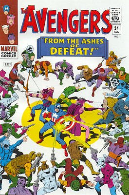 Avengers # 24 Issues V1 (1963 - 1996)
