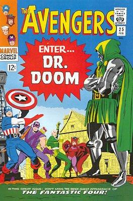 Avengers # 25