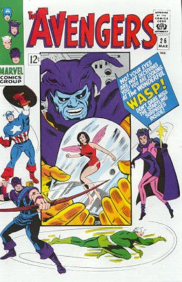Avengers 26 - The Voice of the Wasp!