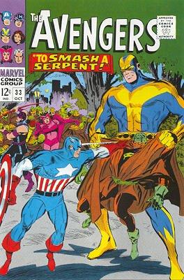 Avengers # 33 Issues V1 (1963 - 1996)