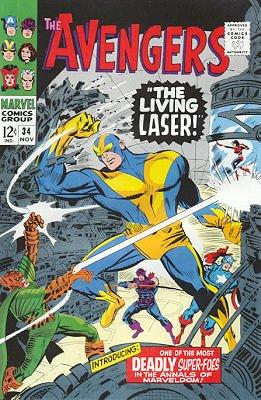 Avengers # 34 Issues V1 (1963 - 1996)