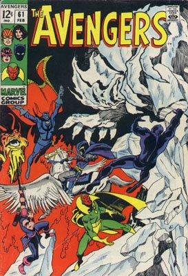 Avengers # 61 Issues V1 (1963 - 1996)