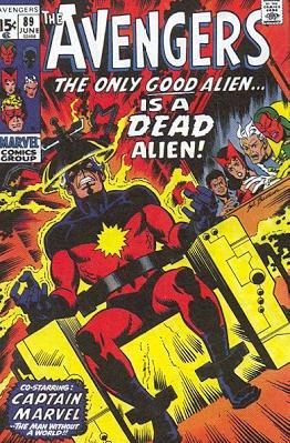 Avengers # 89 Issues V1 (1963 - 1996)
