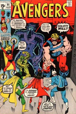 Avengers # 91 Issues V1 (1963 - 1996)