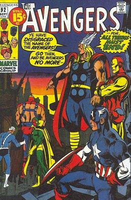 Avengers # 92 Issues V1 (1963 - 1996)