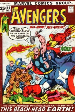 Avengers # 93 Issues V1 (1963 - 1996)