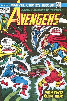 Avengers # 111 Issues V1 (1963 - 1996)