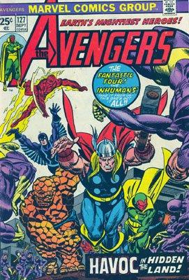 Avengers # 127 Issues V1 (1963 - 1996)