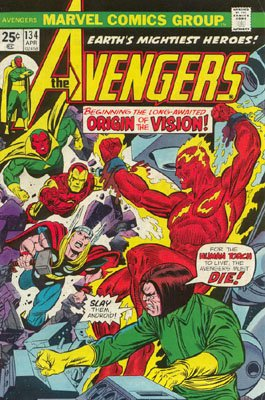 Avengers 134