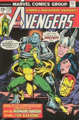 Avengers # 135 Issues V1 (1963 - 1996)