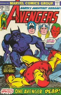 Avengers # 136 Issues V1 (1963 - 1996)