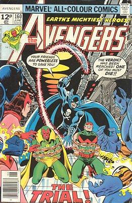 Avengers # 160 Issues V1 (1963 - 1996)