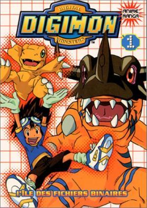 Digimon édition Simple (Anime Comics)