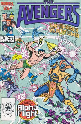 Avengers # 272 Issues V1 (1963 - 1996)