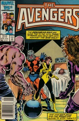 Avengers # 275 Issues V1 (1963 - 1996)