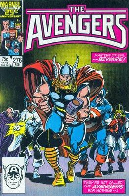 Avengers # 276 Issues V1 (1963 - 1996)