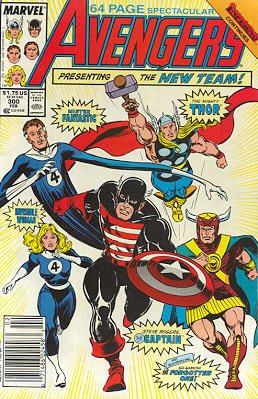 Avengers # 300 Issues V1 (1963 - 1996)