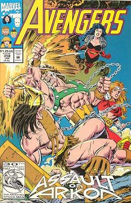 Avengers 358