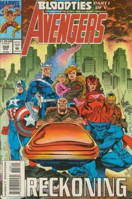 Avengers # 368 Issues V1 (1963 - 1996)