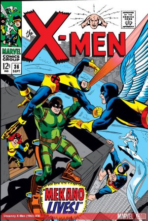 Uncanny X-Men # 36