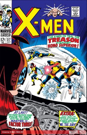 Uncanny X-Men # 37 Issues V1 (1963 - 2011)