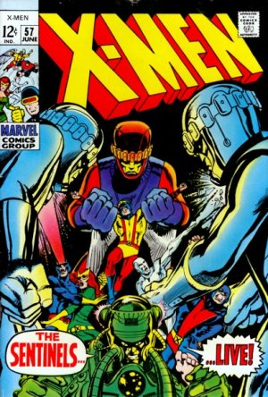 Uncanny X-Men # 57 Issues V1 (1963 - 2011)