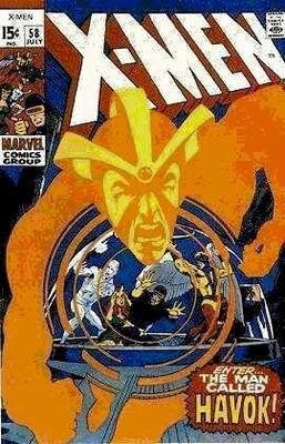 Uncanny X-Men # 58 Issues V1 (1963 - 2011)