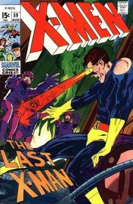 Uncanny X-Men # 59 Issues V1 (1963 - 2011)