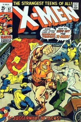 Uncanny X-Men 67 - The Origin of Professor X! -- Where Walks the Juggernaut!