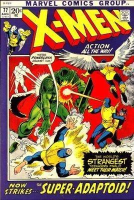 Uncanny X-Men # 77