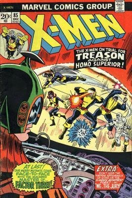 Uncanny X-Men # 85