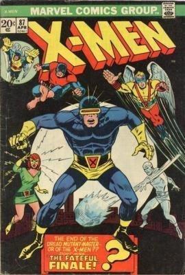 Uncanny X-Men 87 - The Fateful Final!