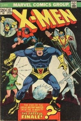 Uncanny X-Men 87