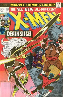 Uncanny X-Men 103 - The Fall of the Tower