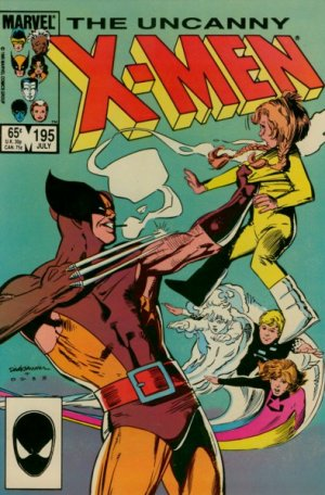Uncanny X-Men 195 - It Was A Dark and Stormy Night...!