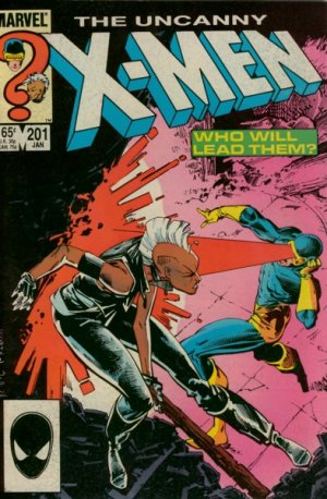 Uncanny X-Men # 201 Issues V1 (1963 - 2011)
