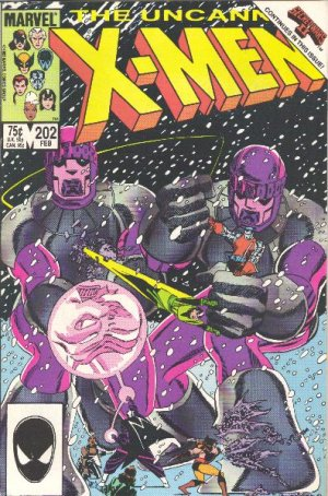 Uncanny X-Men # 202 Issues V1 (1963 - 2011)