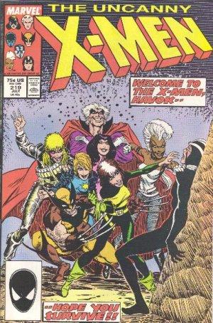 Uncanny X-Men # 219
